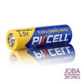 OP=OP Batterijen AA 1.5V PKCELL Heavy Duty 12 stuks_