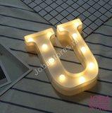 OP=OP Letter Lamp U_