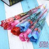 Led Rozen Combi Blauw, Rood, Roze (3x 6 stuks)_