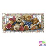 Diamond Painting Teddyberen 35x75cm_
