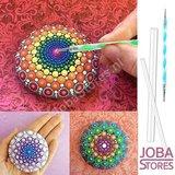 OP=OP Mandala Dotting Toolset (16 delig)_
