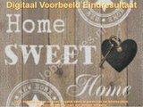 OP=OP Diamond Painting - Home Sweet Home 01 30x40cm_
