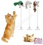 Katten Speelgoed Muisjes met zuignap (3 stuks)_