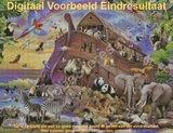 Diamond Painting Ark van Noach 65x50cm_