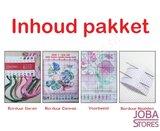 Borduur Pakket Baby Roze 11CT Voorbedrukt (26x32cm)_