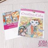 """Kleurboek voor volwassenen """"Creative Cats"""" (24 pagina's)_"""