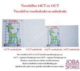 Borduur Pakket Bloem 005 11CT Voorbedrukt (21x21cm)_