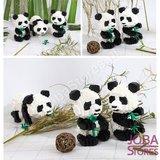 Nanoblocks Panda 3 in 1 (460 delig)_