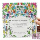 """Kleurboek voor volwassenen """"Enchanted Forest"""" (24 pagina's)_"""
