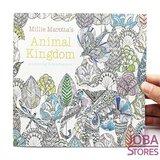 """Kleurboek voor volwassenen """"Animal Kingdom"""" (24 pagina's)_"""