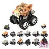 Beast Cars Set 001 (4 stuks) !Spaar ze allemaal!_