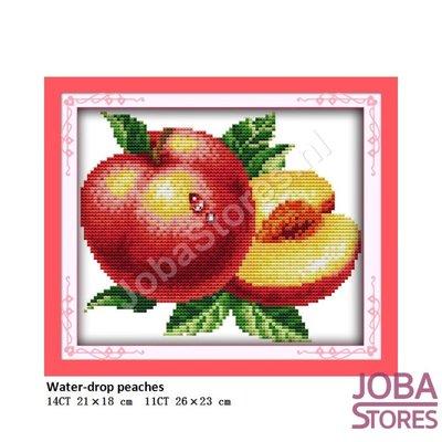 Borduur Pakket Fruit 05 14CT voorbedrukt (21x18cm)