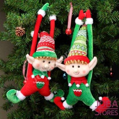 Kerst Poppen Set Elfjes (2 stuks)