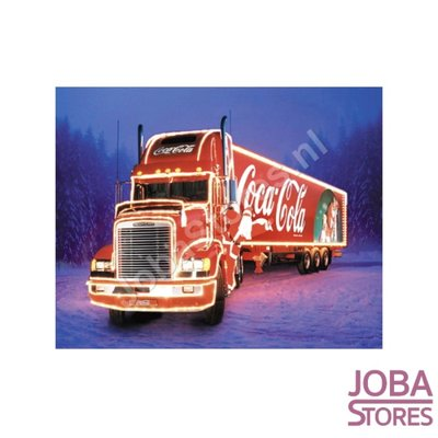 Diamond Painting Kerst Truck 40x50cm