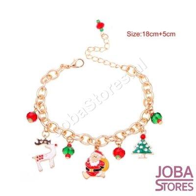 Kerst Armband met bedeltjes 03