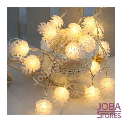 Kerst / Herfst Lampjes Dennenappel (1,5m - 10 lampjes)