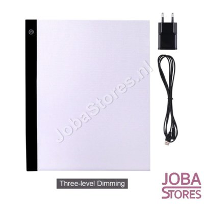 Diamond Painting A3 Ledlamp Dimbaar + adapter