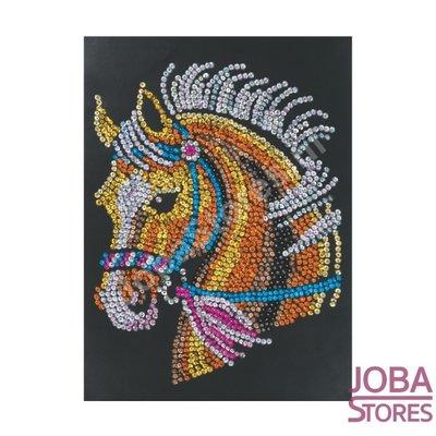 Sequin Art / Pailletten kunst Paard