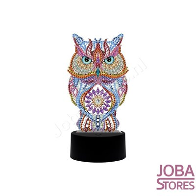 Diamond Painting 3D Illusie Lamp Uil