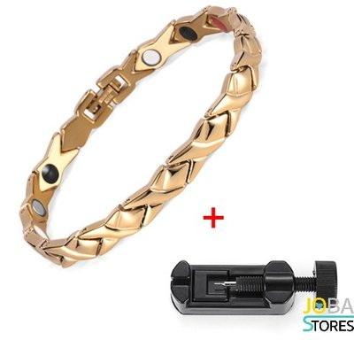 Magneet Armband Adela Goud