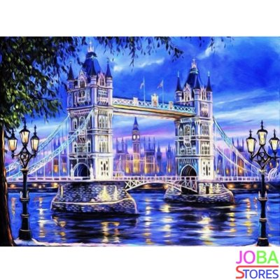 Diamond Painting London Tower Bridge 65x50cm