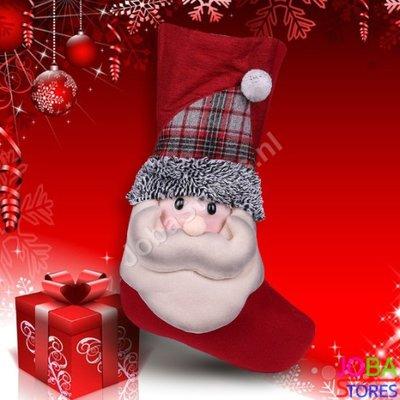 Kerst Sok Kerstman (48cm)