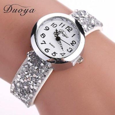 Horloge Duoya Wit in geschenkdoosje