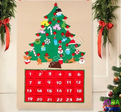 Kerst Advent Kalender Kerstboom