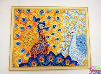 Diamond Painting *Special* Pauwen 001 40x50cm - incl. frame