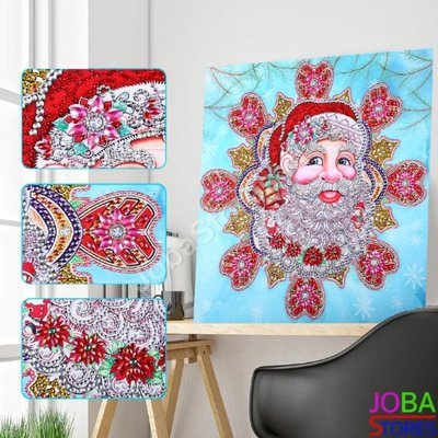 Diamond Painting *Special* Kerstman 40x40cm - incl. frame