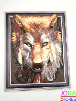 Diamond Painting *Special* Wolf 026 40x50cm - incl. frame