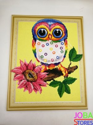 OP=OP Diamond Painting *Special* Uil 005 40x50cm - incl. frame