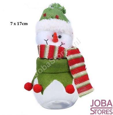 Snoep Potje Sneeuwpop