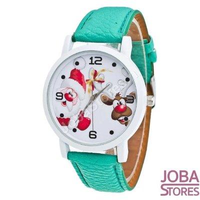 Kerst Horloge 02 Groen