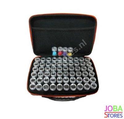 OP=OP Diamond Painting Luxe Bewaarkoffer 60 slots + toolkit en DMC stickers (Groen)