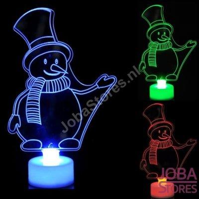 OP=OP Mini Led Sneeuwpop - Color Changing