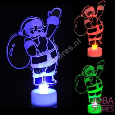 Mini Led Kerstman - Color Changing
