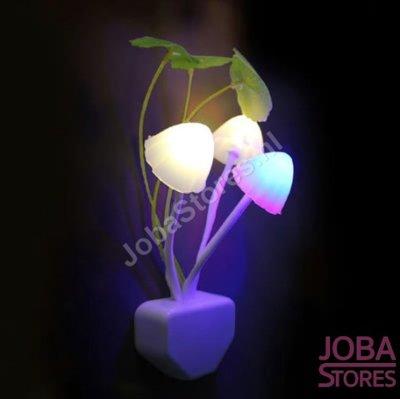 OP=OP Led Nachtlampje Paddenstoelen met sensor