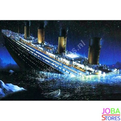Diamond Painting Titanic 60x40cm