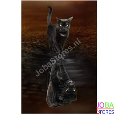 Diamond Painting Kitten-Panter 30x40cm