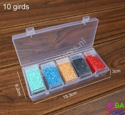 Diamond Painting Sorteerdoos 10 slots TicTac style