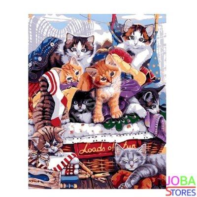 Diamond Painting Kittens 40x50cm