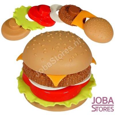 Speelgoed Hamburger (maak je eigen hamburger)