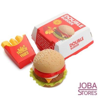 Speelgoed Hamburger + Frietjes (maak je eigen hamburger)