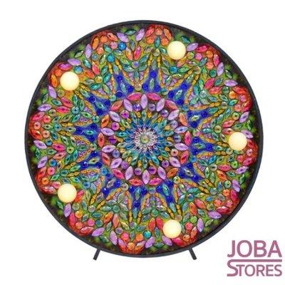 Diamond Painting Lamp Mandala 02
