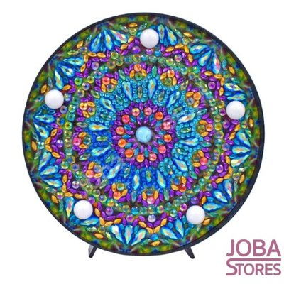 Diamond Painting Lamp Mandala 04