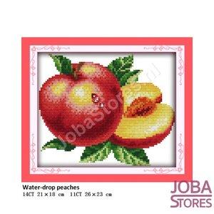 Borduur Pakket Fruit 05 11CT voorbedrukt (26x23cm)