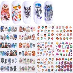 Nagel Sticker Set Uilen (192 stickers)