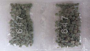 Ronde steentjes nummer 647 (klein)