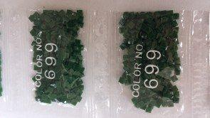 Ronde steentjes nummer 699 (klein)